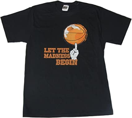 Amazon.com: Let The Madness Begin Basketball T-Shirt March Madness ...