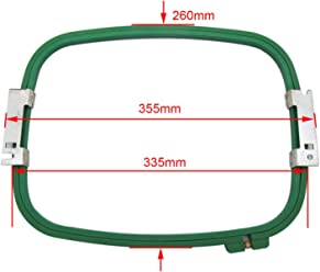 """9cm 3.5/""""  355mm Wide 1 PCS Embroidery Hoop 14/"""" For Tajima Toyota Commercial"""