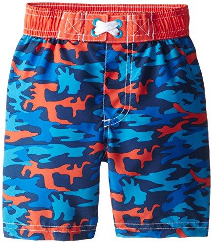 iXtreme Little Boys' Camouflage Short, Blue, 4T