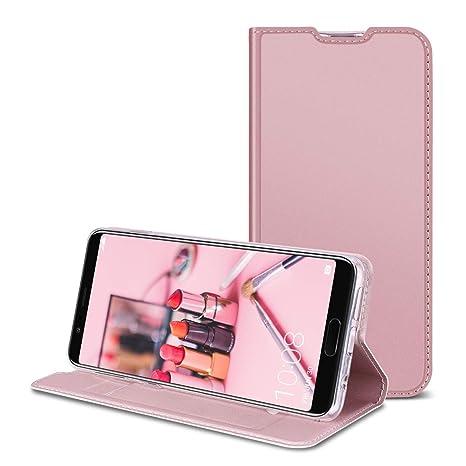 RuiPower para Funda Samsung Galaxy S10 Plus Carcasa Libro con Tapa Flip Folio Case de PU Cuero Silicona Soporte Plegable Ranuras Tarjetas y Billetera ...
