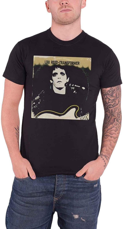 Lou Reed Homme T Shirt Noir Transformer Vintage Cover Officiel