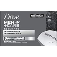 Dove Men +Care Charcoal+Clay Elements Bar, 360 Grams