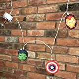 Groovy Uk Marvel Avengers String Lights
