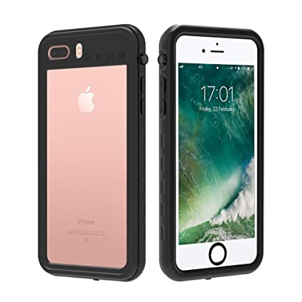 size 40 47a65 278fa iPhone 7 Plus / 8 Plus Waterproof Case, AIUERU Shockproof case for iPhone 7  Plus / 8 Plus 5.5 inch with IP68 Waterproof Function with Built-in Screen  ...