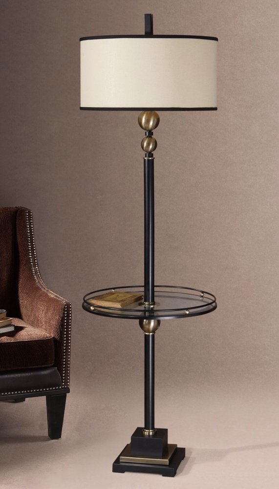 Uttermost 28571-1 Revolution End Table Lamp - Side Table With Lamp ...