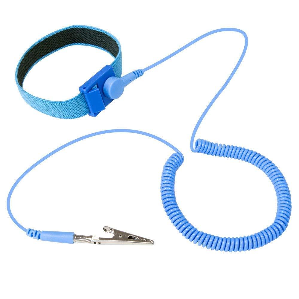 Antistatic ESD Adjustable Straps Antistatic Grounding Bracelets Wrist Band Tools