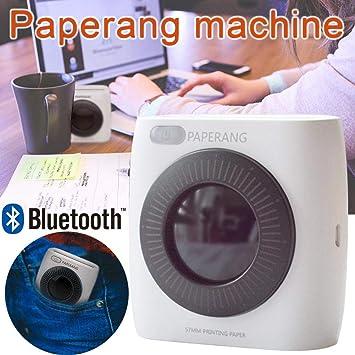 CatcherMy Bluetooth Impresora fotográfica Mini Impresora ...