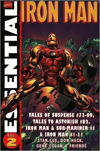 Book Essential Iron Man: Vol. 2 (v. 2)