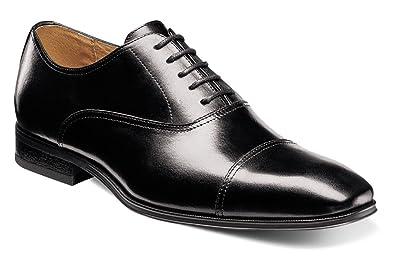 Florsheim Men's Corbetta Cap Toe Oxford Black Smooth 14 EEE US