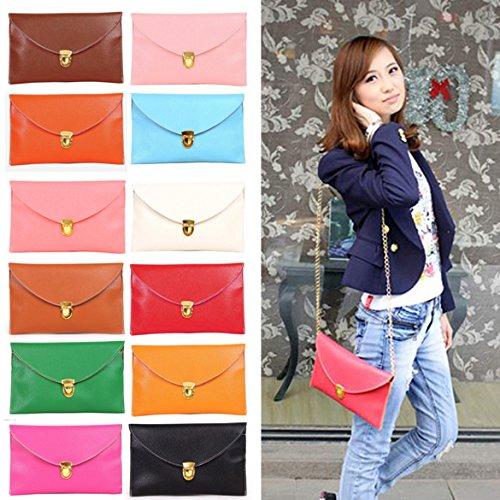 Rose Bag Clutch Evening Purse Chain Leather Women Large Envelope Red Style Ardisle Ladies Wedding 0Y7wUU