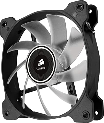 Corsair AF120 LED Quiet Edition Ventilador de PC (120 mm, Alto ...