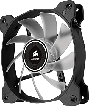 Corsair Air Series AF120-LED 120mm Quiet Edition High Airflow LED Fan - Red  (Single Pack)