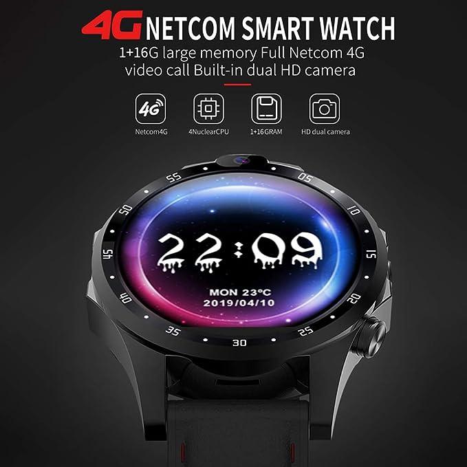 Promise2134 V9 4G Smart Watch Phone Android 7.1 con GPS 5MP Cámara ...