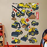 Fathead Tonka Construction Truck Collection Real Big Wall Decal