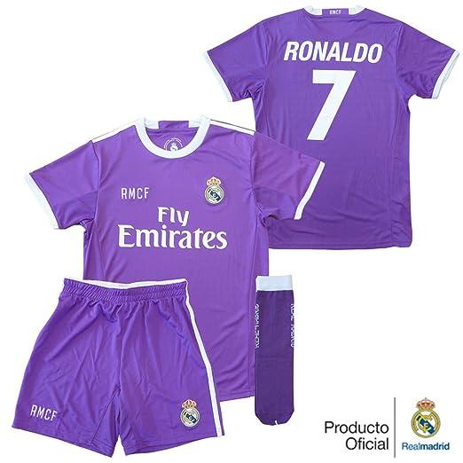 6 opinioni per Real Madrid Set sportivo, tema: seconda divisa del giocatore Ronaldo del Real