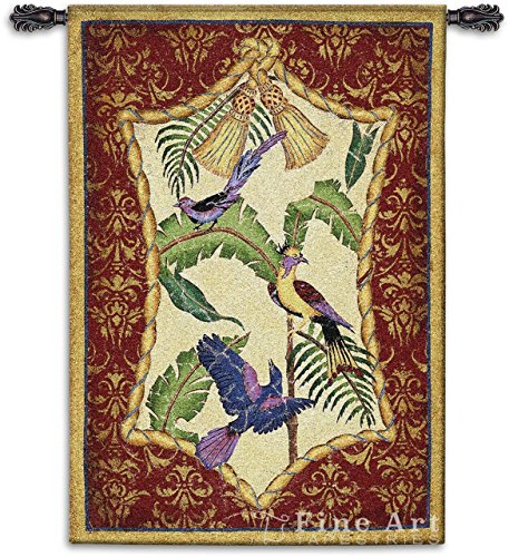 Aviary II Wall (Fine Art Tapestries Aviary)