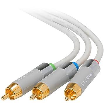 Belkin AV21003-12-WHT 3.6m Blanco componente (YPbPr) cable de vídeo