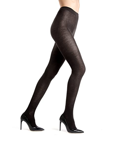 best price outlet boutique factory outlet Memoi Merino Wool Solid Knit Tights | Women's Hosiery | Nylons