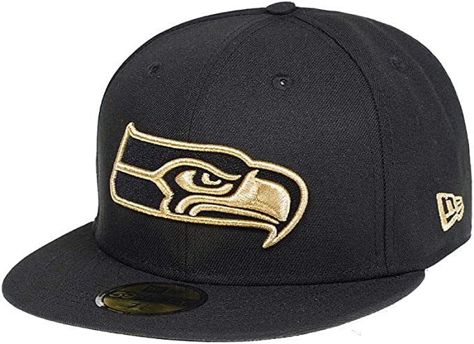 GRAPHITE Seattle Seahawks grau New Era 59Fifty Cap