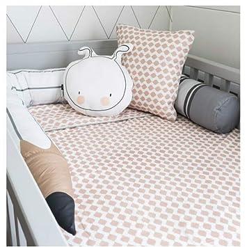 Amazon.com: Parachoques para cuna de bebé – rieles de cama ...