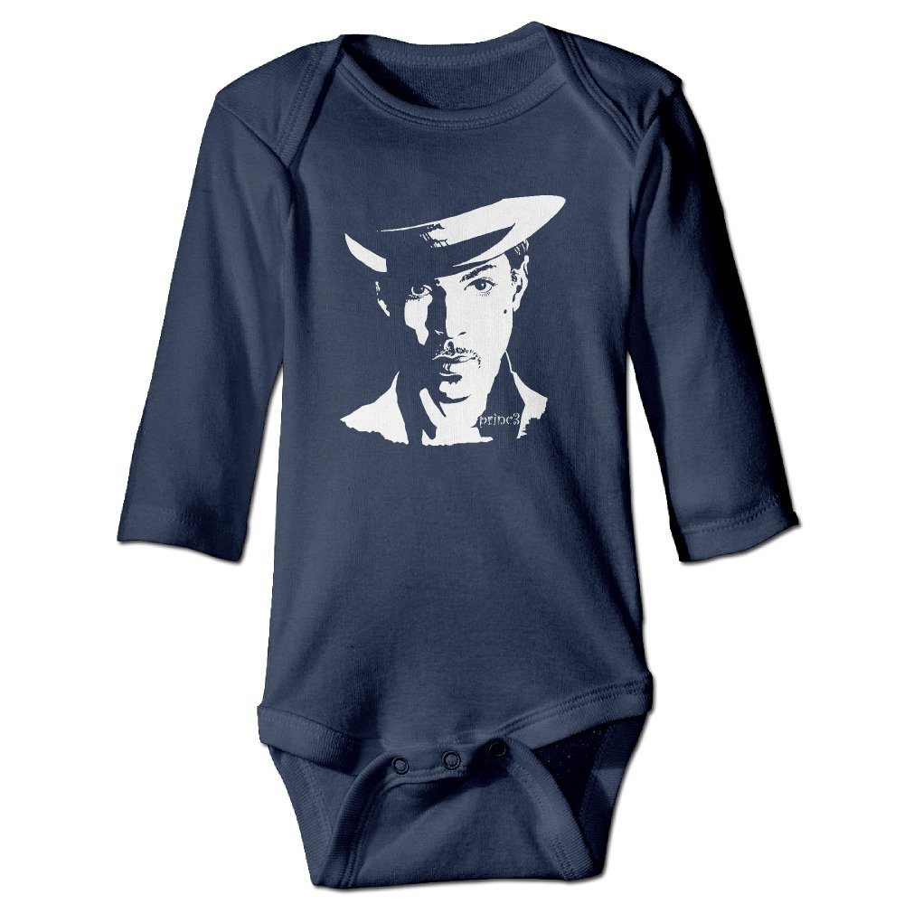 Prince Rogers Nelson American Singer Baby Long Sleeve Bodysuits