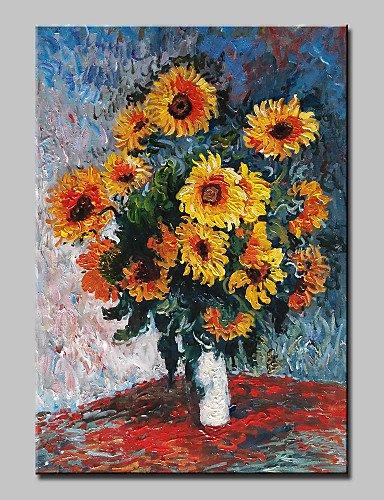 OFLADYH ® dipinto a mano classico astratta fiore fiori dipinto ad ...