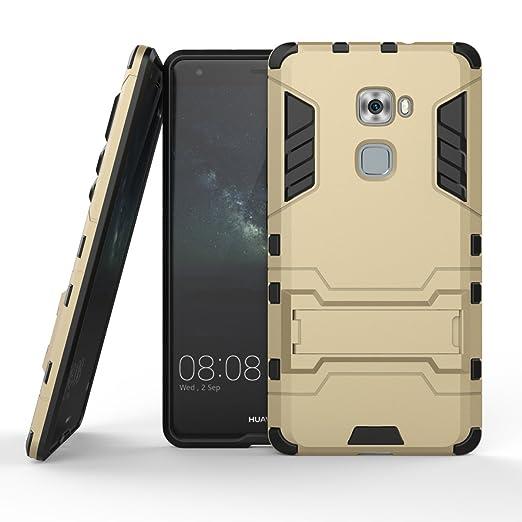 95 opinioni per MOONCASE Huawei Mate S Custodia Dual Layer Case ibrida Rigida Morbido Armatura