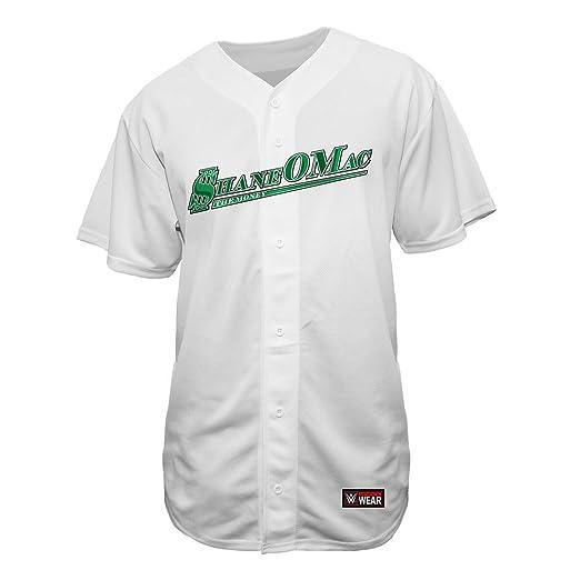 the latest 2103b a359b Mcmahon Clothing Wrestlemania Wwe White Baseball amp ...