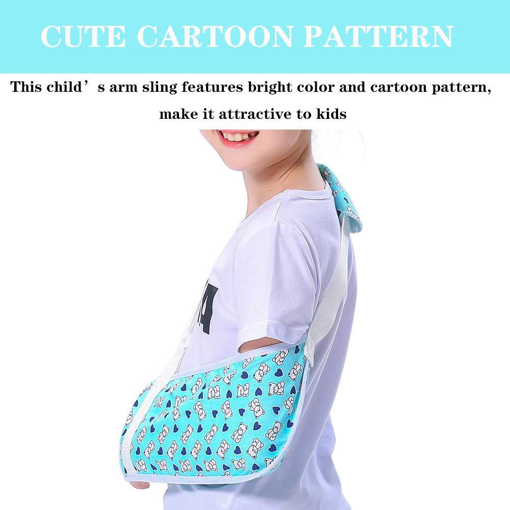 Tobillera para niños y niñas con diseño de oso azul y correa para ...