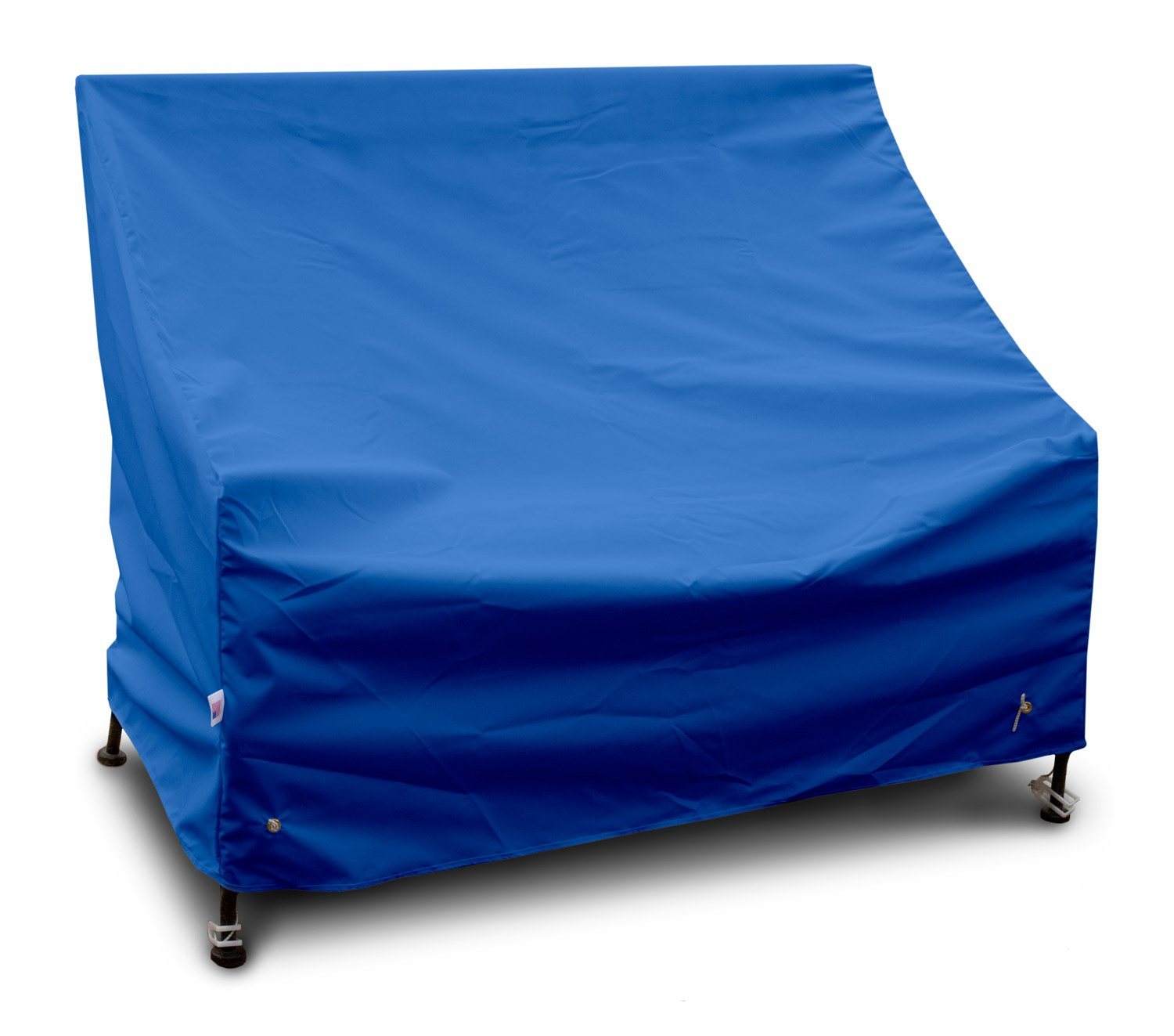 KoverRoos Weathermax 04203 5-Feet Bench/Glider Cover, 63-Inch Width by 28-Inch Diameter by 37-Inch Height, Pacific Blue