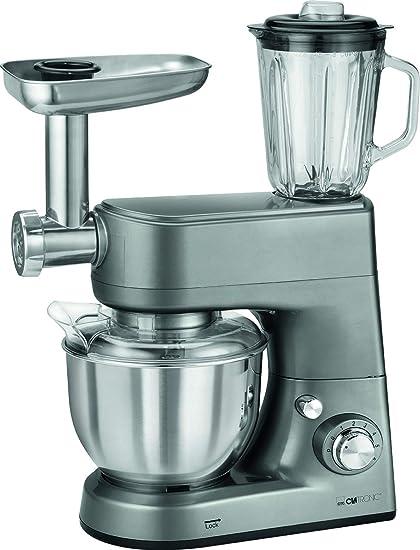 Clatronic KM 3648 Robot de Cocina multifunción amasadora, picadora ...
