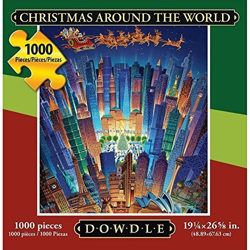 Christmas Around the World 1000 Piece Puzzle by Dowdle