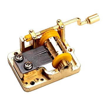 18 Note Musical Mechanism Movement for DIY Music Box