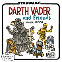 Darth Vader and Friends 2016 Wall Calendar