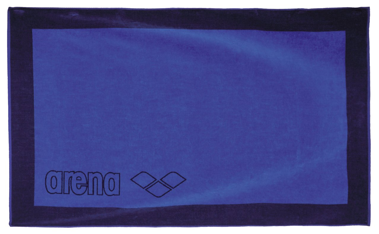 Arena BIG TOWEL Asciugamano, Navy/Royal, TU 1B068_708_TU