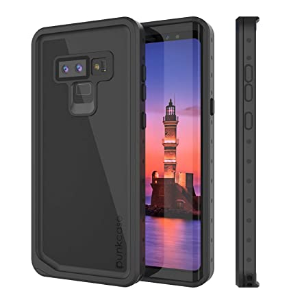 PunkCase Galaxy Note 9 Waterproof Case [StudStar Series] [Slim Fit] [IP68 Certified] [Shockproof] [Dirtproof] [Snowproof] Armor Cover Compatible with ...