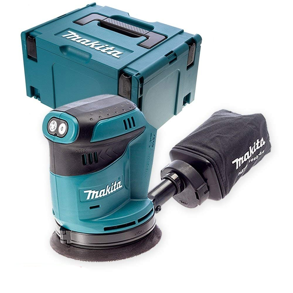 Makita DBO180Z 18V li-ion 125mm Random Orbit Sander with Type 3 Case