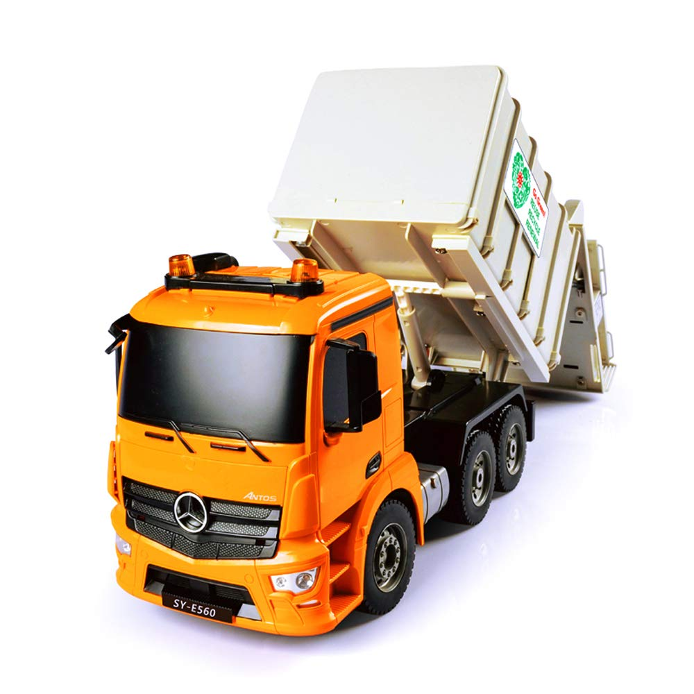 moda clasica LXWM Camión de Basura RC 1:20 Modelo de de de vehículo de construcción de Control de Radio de Basura 2.4G para Regalo de los niños Juguetes de Hobby  compras de moda online