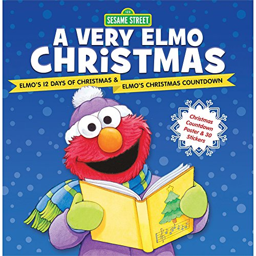 Sesame Street A Very Elmo Christmas Book Deluxe Childrens Holiday Classics from Hachette Book Group
