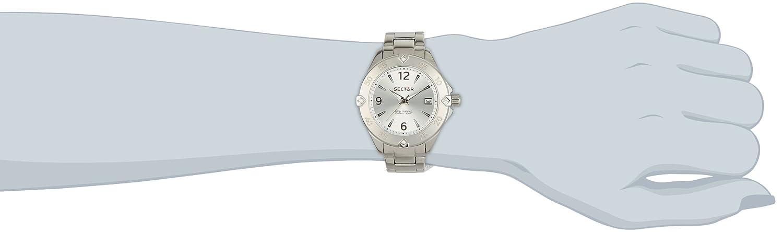 Sector Damen-Armbanduhr 250 Analog Quarz Edelstahl R3253250508