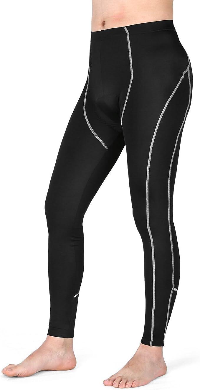 Men/'s Cycling Pants 3D Padded Biking Bicycle Bike MTB Running Long Pants Tights