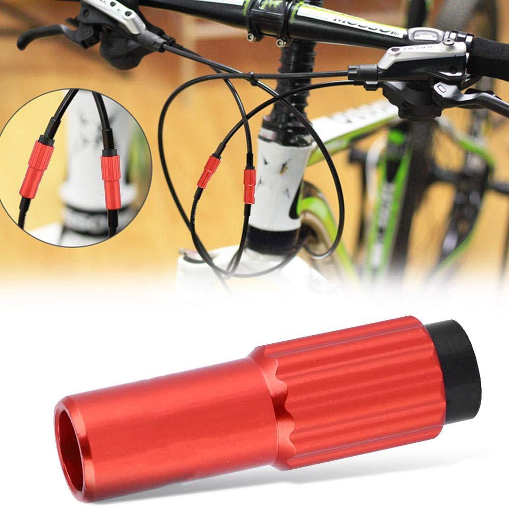 ajustadores de Cable de Bicicleta Aptos para una l/ínea de desviador Exterior de 4 mm 4,5 mm VGEBY1 Conector de Cambio de Engranaje del Cable de Bicicleta