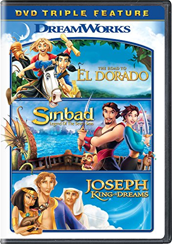 The Road to El Dorado / Sinbad: Legend of Seven Seas / Joseph: King of Dreams (Sinbad Legend Of The Seven Seas Marina)