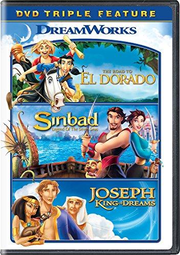 The Road to El Dorado / Sinbad: Legend of Seven Seas / Joseph: King of Dreams (Three Studio Josephs Kings)