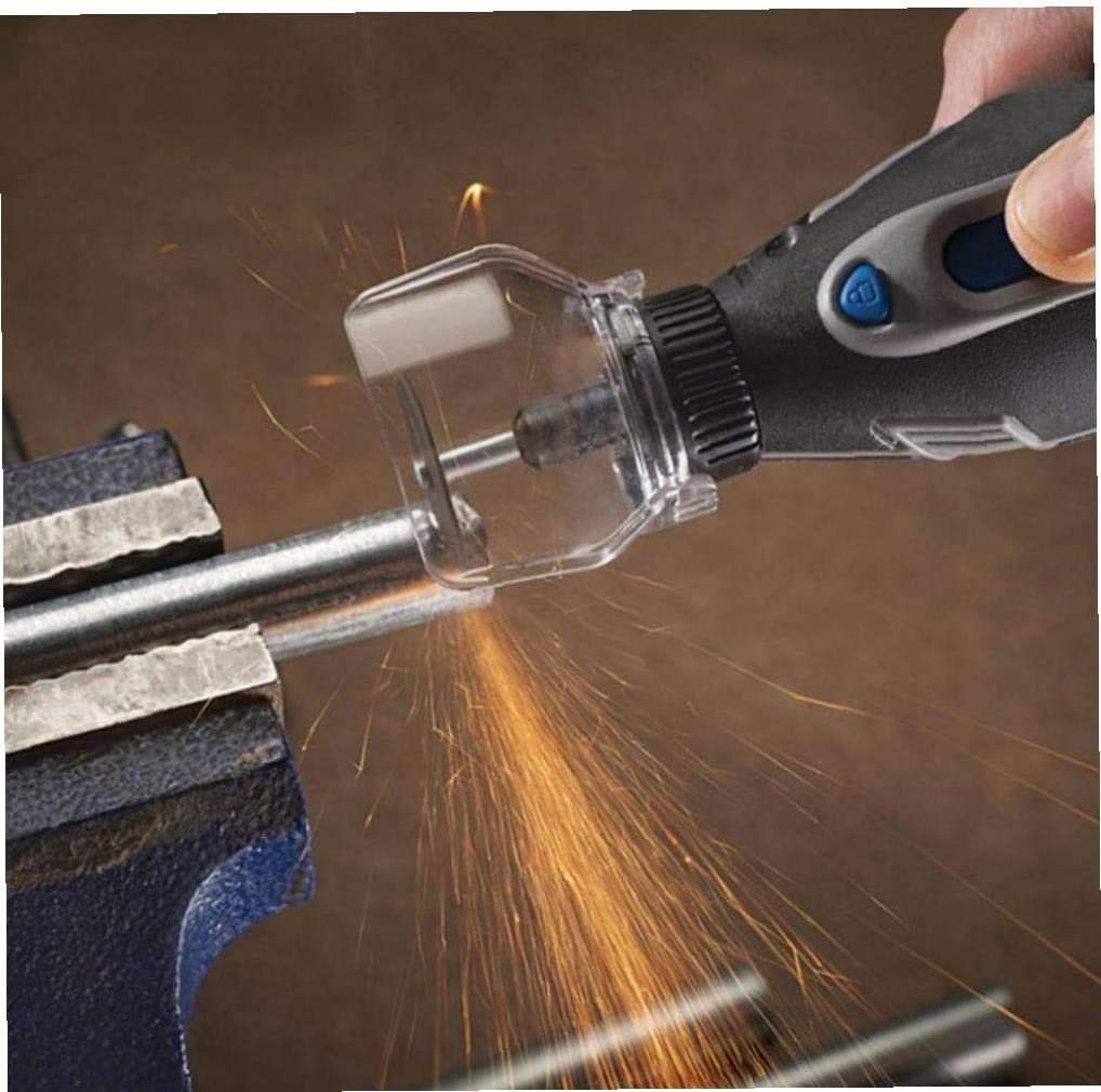 Lankater Pi/èce jointe Accessoires Bouclier Outil Rotatif A550 pour Mini Drill Mini Grinder Couverture Outils Dremel Accessoires
