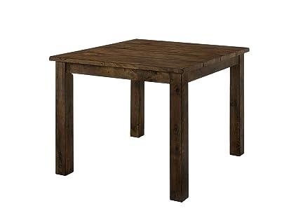 Amazon.com: Benzara BM188328 - Mantel de madera con patas de ...