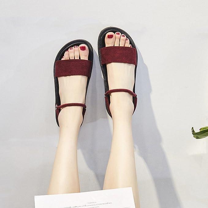 BAJIAN-LI Alta heelsWomen sandalias,mujer Boho Verano ...