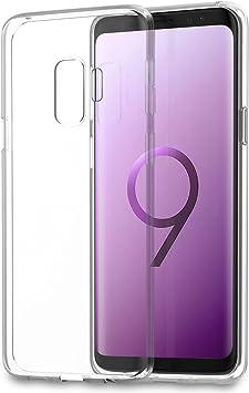 Funda Samsung Galaxy S9 Plus, Eouine Ultrafina Carcasa de Silicona Transparente Suave Gel TPU y Liquid Crystal Case Cover Bumper Fundas para Movil Samsung Galaxy S9: Amazon.es: Electrónica