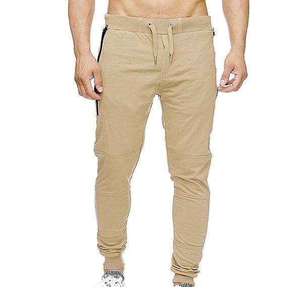 Gusspower Pantalones Hombre Deporte, Pantalones de chándal Hombre ...