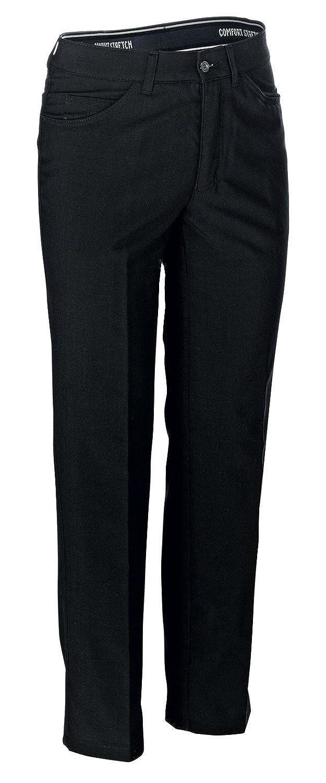 Vigo Job Eline Leg Trousers Business Trousers Fabric in Midnight Blue